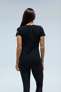 Flooded V Neck  Womens