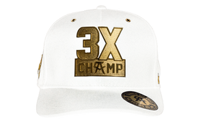 3X Champ Metal White