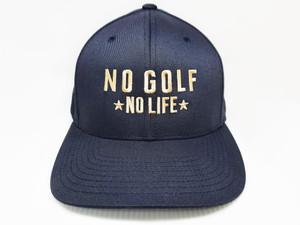 No Golf No Life Navy Hat