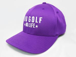 No Golf No Life Purple Hat