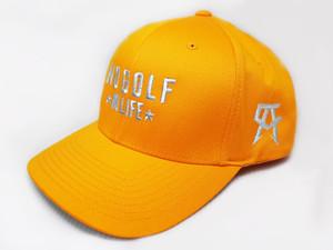 No Golf No Life Gold Hat