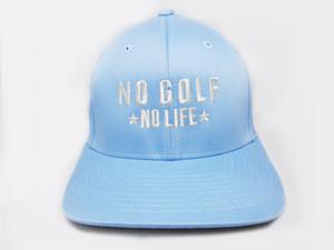 No Golf No Life Sky Blue Hat