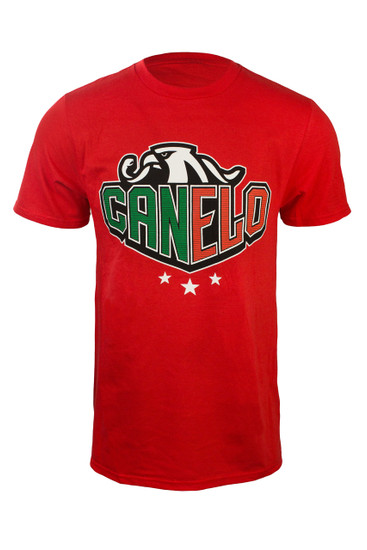 """Canelo"" Eagle sharp in red"