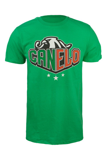 """Canelo"" Eagle sharp in Kelly Green"