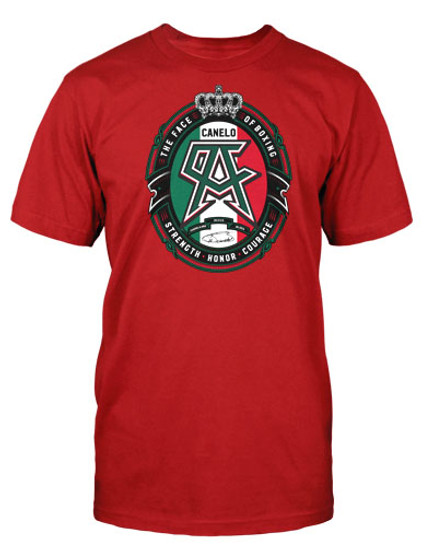 Label Red Mens Tee