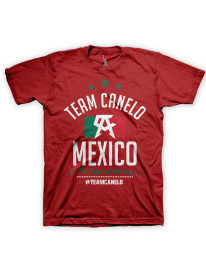 Team Youth Red tee