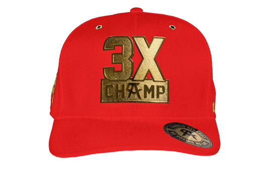 3X Champ Metal Red