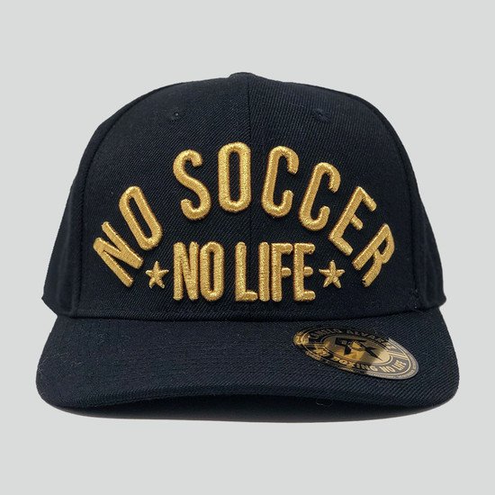 No Soccer No Life Limited Edition - Black