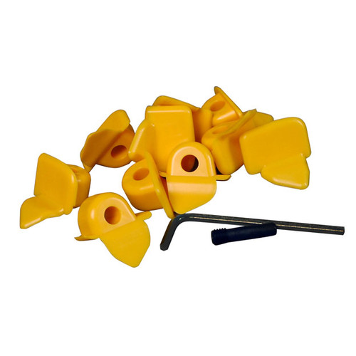 5-PACK Mount Demount Head Plastic Inserts for ACCU-TURN 100798 BOSCH 101608