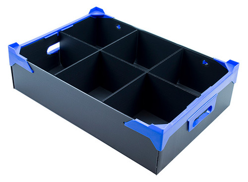 Rigid Fluted Plastic Boxes
