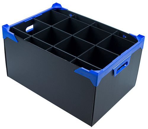 Large Cocktail Glass Storage Box