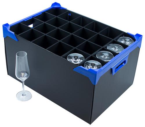 Champagne Flute Storage Box