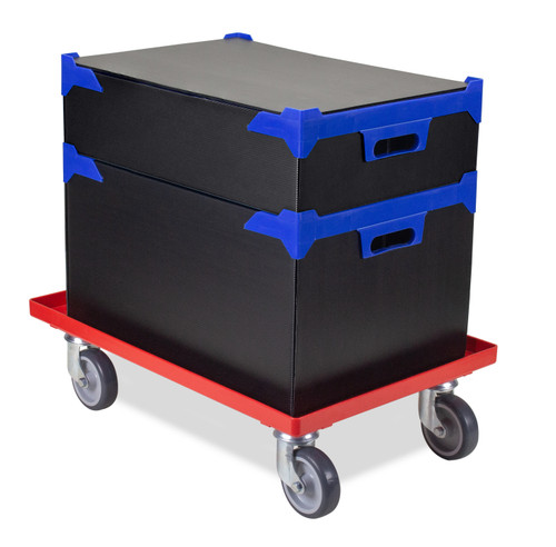 Stacking Storage Box Trolley