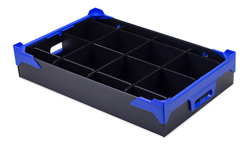 Shallow Glassware Storage Crate