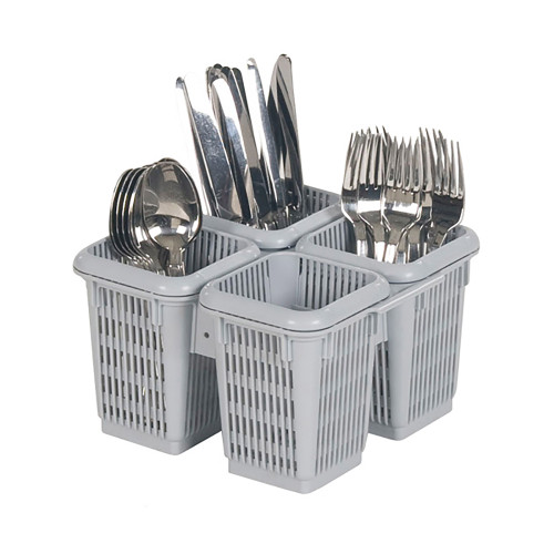 4 COMPARTMENT CUTLERY BASKET