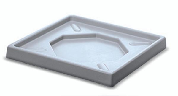400mm Glasswasher Basket Drip Tray