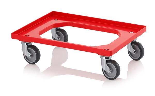 MULTIPACK | PACK OF 5 TRANSPORT DOLLIES | 600 X 400MM