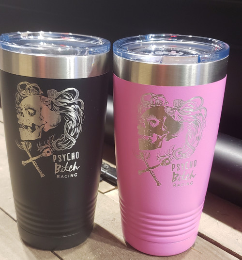 20 OZ Tumbler Pink or Black
