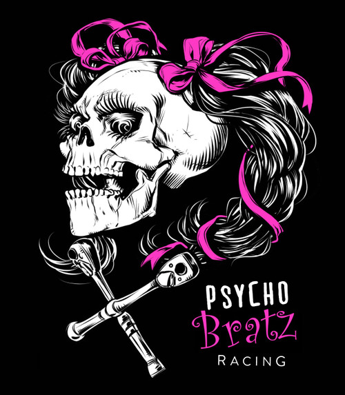 Psycho Bratz Racing Stickers