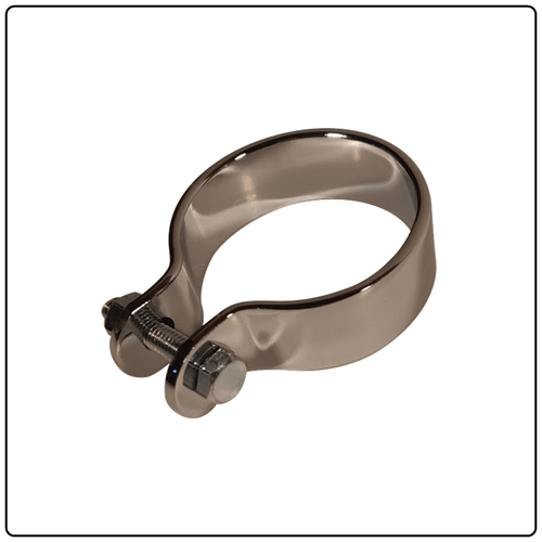 "Exhaust Clamp 1.75"" Chrome"