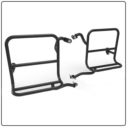 Royal Enfield Canvas Saddlebag Brackets