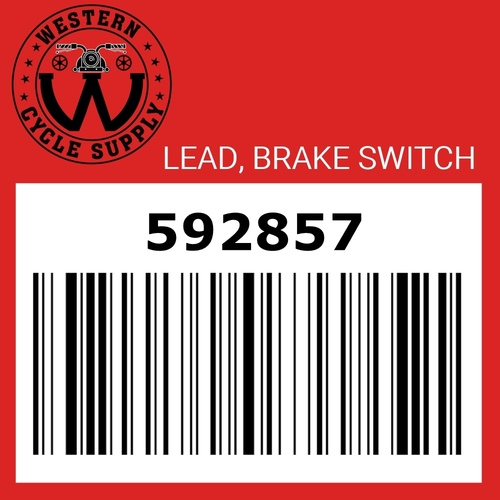 Lead, Front Brake Switch