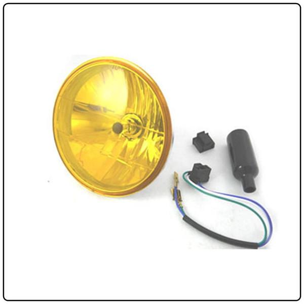 """Yellow 7"""" Headlight"""