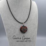 Charm Pendant on Neoprene,  New Grange Spiral  GBN21-4779