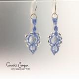 Spears in Perrywinkle Blue & Silvery Crystal ME18-3499