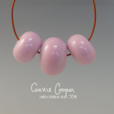 Beads, Set of 3 Pale Lavender Pink LBS19-4073