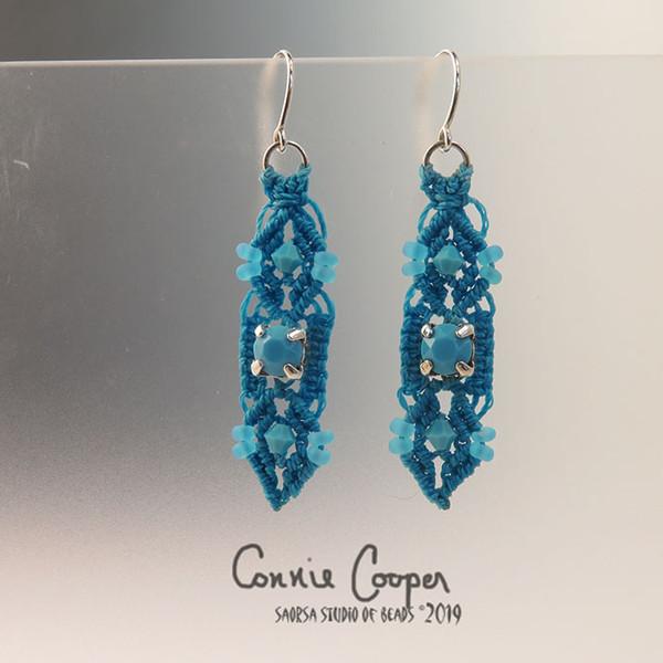 Crystal Sweeties Caribbean Blue  ME16-3116