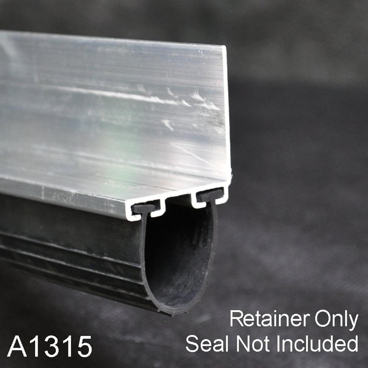 Aluminum Garage Door Bottom Seal Retainer 1 3 8 Quot X 1 1 2