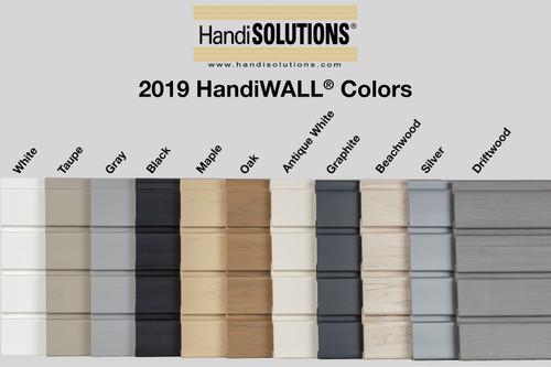 HandiWall Panel J Molding Trim Taupe