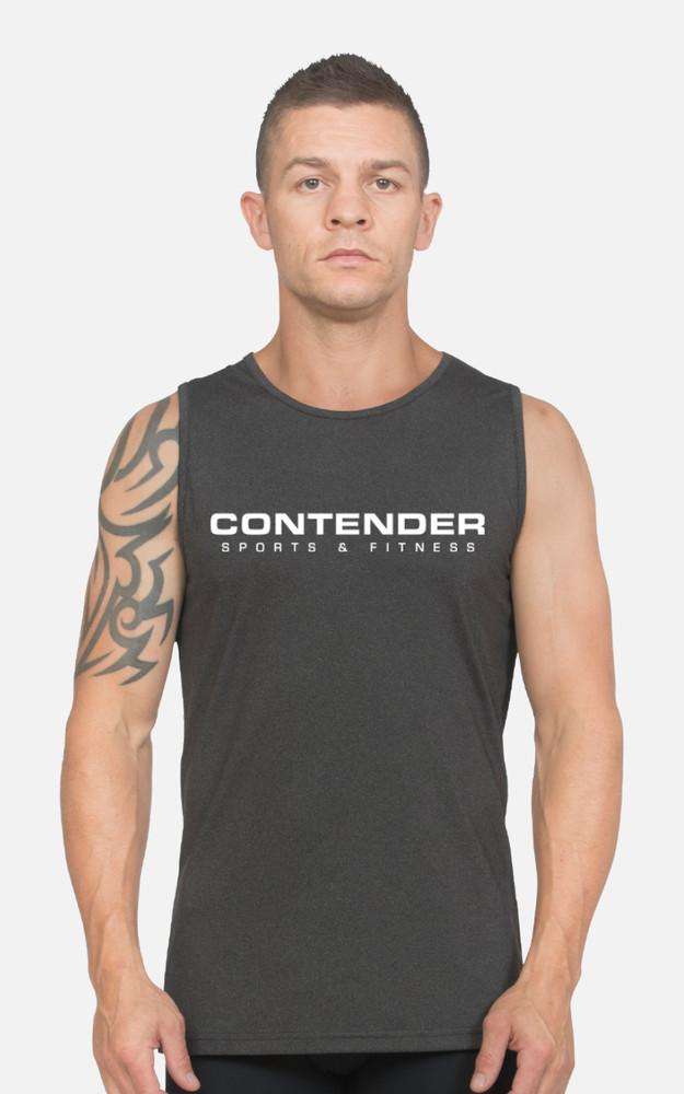 Contender Sports: Mens Slim-Fit Singlet