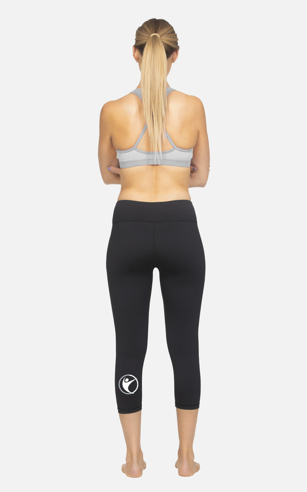 Your Life Fitness Centre: Ladies Hi-Rise 3/4 Length Compression Tights