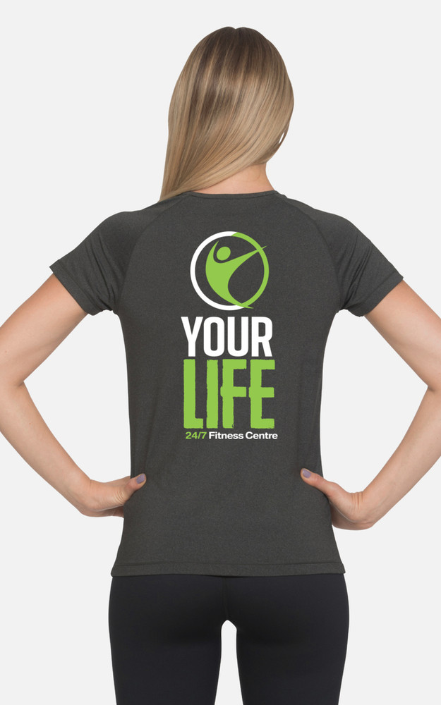 Your Life Fitness Centre: Ladies Slim Fit Tee