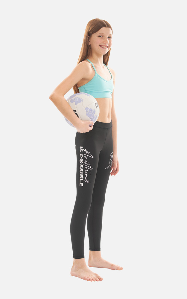 LW07: Youth Full Length Compression Tights