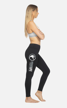 Your Life Fitness Centre: Ladies Hi-Rise Full length Compression Tights