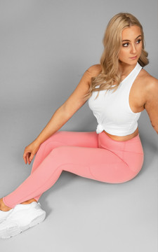 Your Gym: PINK Ultra Hi-Rise with Pocket