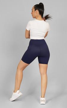 Authentics: NAVY Ladies Ultra Pocket Shorts