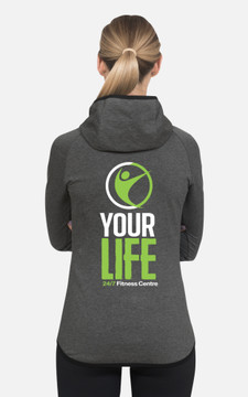 Your Life Fitness Centre: Ladies Zip-Up Hoodie
