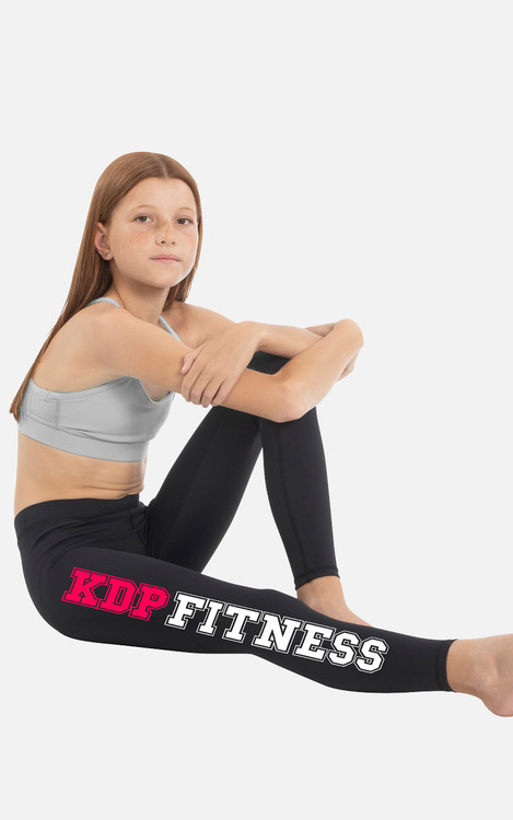KDP Fitness: Youth Full Length Compression Tights