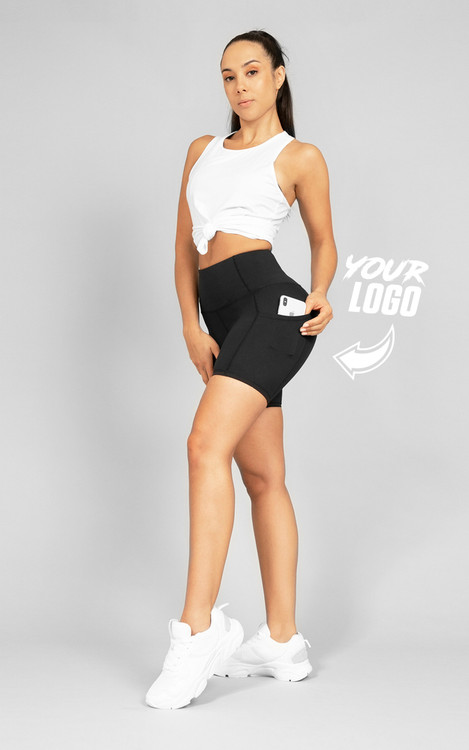 Your Gym: Ladies Ultra Pocket Shorts
