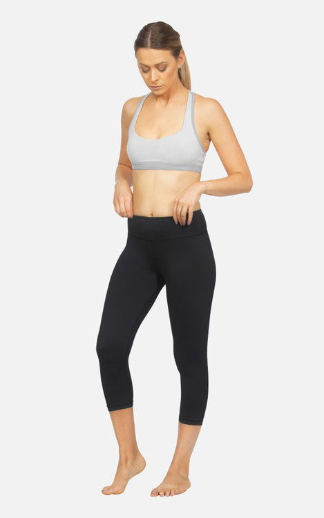 Gym It: Ladies Hi-Rise 3/4 Length Compression Tights