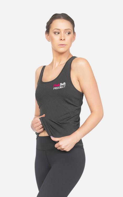 Pink Belt Project: Ladies Slim Fit Singlet