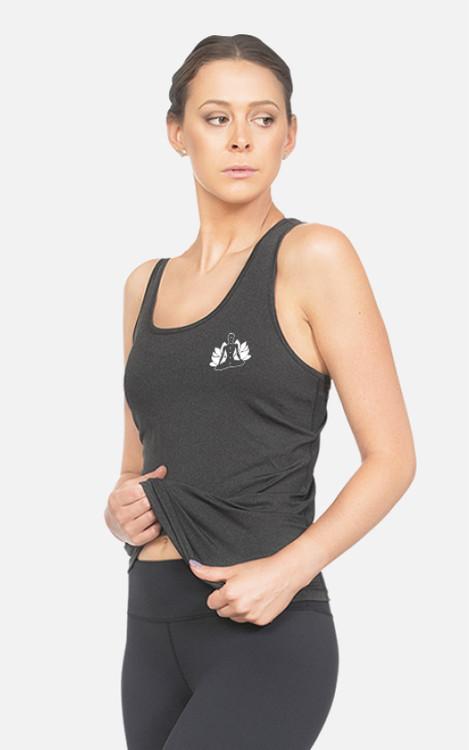 Yoga 4 Yachties: Ladies Slim-Fit Singlet