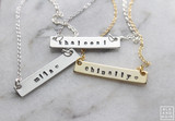 NEW Nameplate / Nametag Necklace