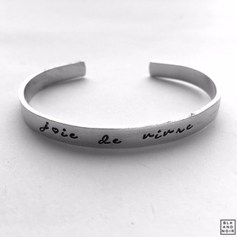 Joie de Vivre French Bracelet