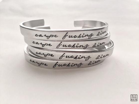 Carpe Fucking Diem Bracelet