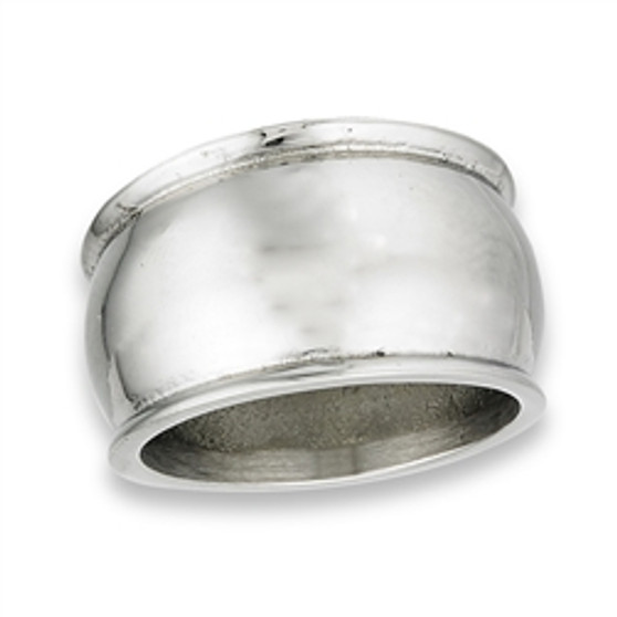 Stainless Steel Dome Ring